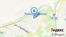 Новомосковский трикотаж на карте