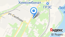 Новомосковская библиотечная система на карте