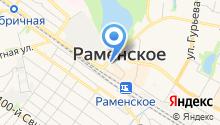 Почтовое отделение №140100 на карте