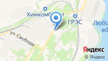 Магазин продуктов на Северной Советской на карте
