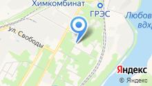 Новомосковскоргхим на карте