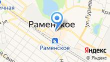 Администрация городского поселения Раменское на карте