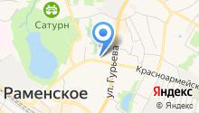 Магазин одежды и обуви на карте