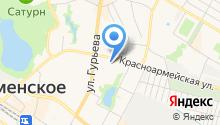 Средняя общеобразовательная школа №1, МОУ на карте