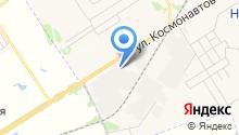 Магазин бытовой химии на ул. Космонавтов на карте
