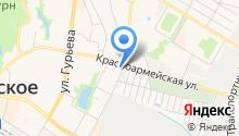 """Бильярдный клуб """"Атмосфера"""" на карте"""