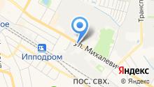 Гостея на карте