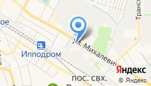 Метконс на карте