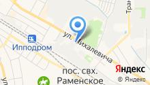 СМ, ЗАО на карте