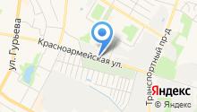 Центр художественной ковки на карте