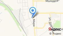 Новомосковск-4 на карте
