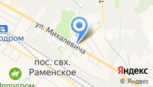 Муниципальное управление МВД России на карте