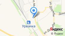 Мировые судьи Новомосковского района на карте