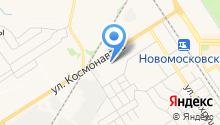Космонавты на карте