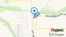 Комбинат специального обслуживания, МКУ на карте