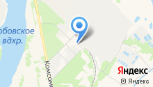 Первомайский завод железобетонных изделий на карте