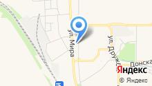Автостоянка на ул. Мира на карте