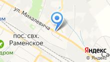 На Танеевке на карте