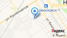 Новомосковск-7 на карте