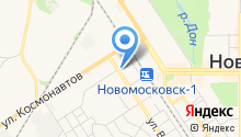 Пункт полиции Вахрушевского микрорайона на карте