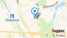 Новомосковск-15 на карте