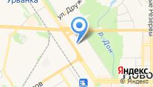 Новомосковск-12 на карте