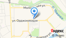 РТС на карте