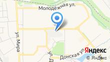 Новомосковск на карте