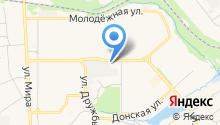 Автостоянка на ул. Орджоникидзе на карте