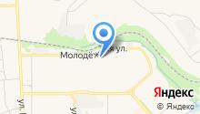 Новомосковск-20 на карте