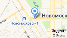 Нотариус Бондарева И.В. на карте