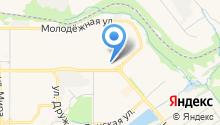 Автостоянка на ул. Трудовой проезд на карте