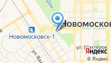 Магазин оптики и головных уборов на Комсомольской на карте