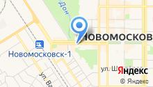 Отдел судебных приставов Новомосковского района на карте