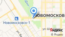 Отдел службы судебных приставов Новомосковского района на карте