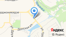 Новомосковск-13 на карте