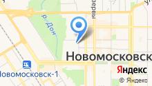 Новомосковская специальная (коррекционная) общеобразовательная школа-интернат для обучающихся на карте
