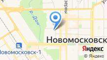 Новомосковская специальная (коррекционная) общеобразовательная школа-интернат для обучающихся, воспитанников с ограниченными возможностями здоровья на карте