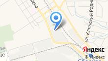 Новомосковский мелькомбинат, ЗАО на карте