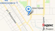 Новомосковск-14 на карте