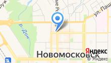 Перекресток на карте