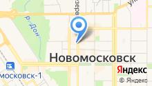 Новомосковский строительный колледж на карте