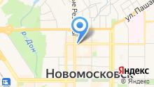 Пекарня от Урвановского рынка на карте