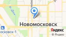 Новомосковский городской суд на карте