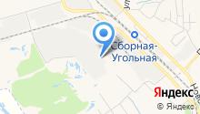 Новомосковский завод керамических материалов, ЗАО на карте