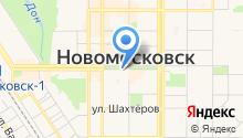 Управление пенсионного фонда РФ в г. Новомосковске на карте