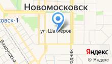 Горчакова Е.Л. на карте