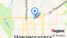 Аксеновский на карте
