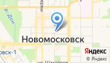 Отдел МВД России по г. Новомосковск на карте