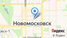 Отдел вневедомственной охраны по г. Новомосковску на карте
